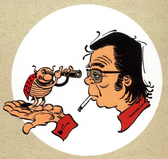 Gotlib et sa coccinelle: