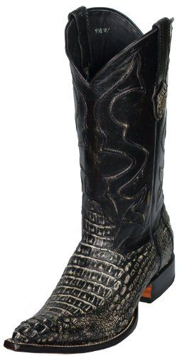 Men's COWBOY BOOTS Black Shoes 10 | Men Shoes | Pinterest | Boots ...