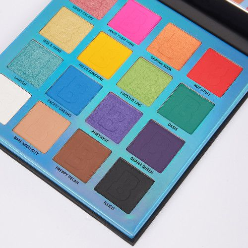Bright 16 Colour Palette by Beauty Bay #5