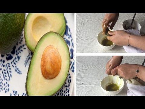 طريقة إستخراج زيت الأفوكادو طبيعي 100 في المنزل و بسهولة للشعر الجاف الخشن و مجعد Youtube Healthy Living Healthy Avocado