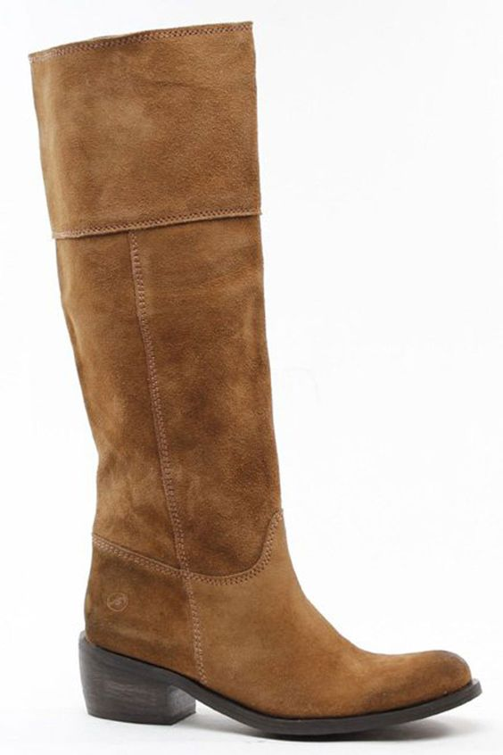 Camel Suede Boots