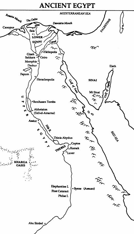 Cities of ancient Egypt