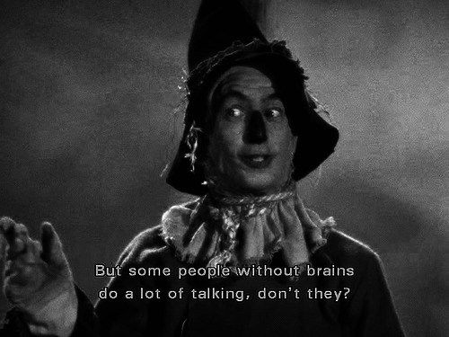 The Wizard of Oz, which I watched pretty recently, and loved.