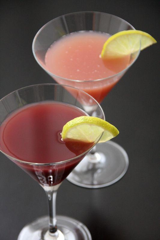 Basil Berry Cooler  250g de framboises mixées et passées (=coulis de framboise)15 feuilles de basilic très finelement émincées450mL de vodka...