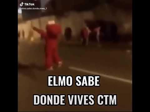 Elmo Sabe Donde Vives Ctm Youtube In 2021 Elmo Memes Youtube
