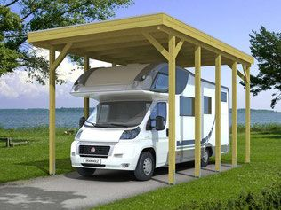 Wohnmobil Hochcarport Preis Carports Holz Stahl Alu In 2020 Carport Holz Carport Einzelcarport