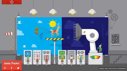 Doodleando, Los Logos de Google: Sorpresas de parte de Google para la navidad de este año.