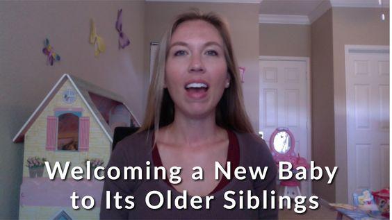 Welcoming a New Baby to Its Older Siblings http://www.bow-tiger.com/welcoming-a-new-baby-to-its-older-siblings/