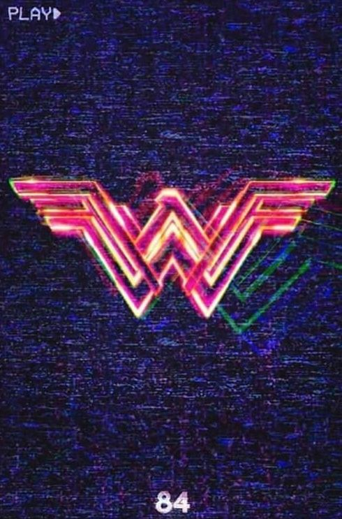 Official Ww 1984 Poster Wonder Woman Full Movies Retro Poster