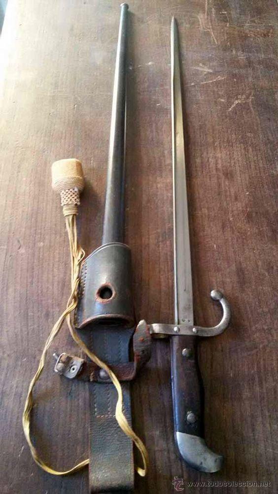 BAYONETA DE PASEO ARGENTINA / Armas antiguas en todocoleccion