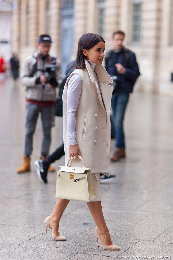Miroslava Duma Paris Fashion Week Fall 2014 Street Style Summer Fashion New Trends