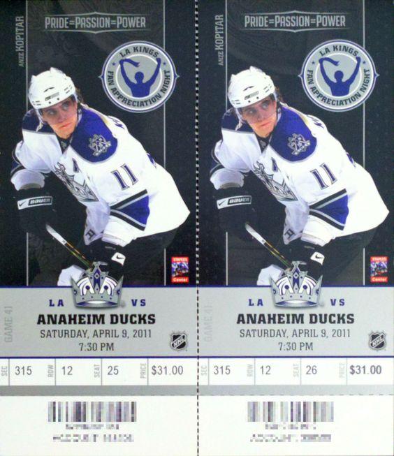 MrADMorrow - This Item For Sale - L.A. Kings NHL Hockey Regular ...