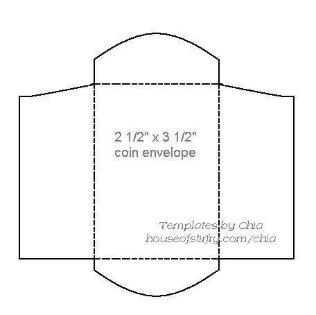 Envelope Template  Paper Craft    Sobres Molde Y Cajas