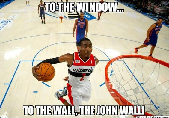 5950f512d79abd1ad2b0843af825f180 john wall nba basketball you know that song? john wall does! wizards memes pinterest,John Wall Bruh Meme