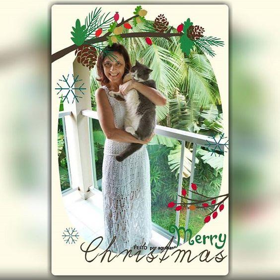 O verdadeiro espírito do Natal encontra-se presente em todas as boas ações que fazemos durante nossa vida. FELIZ NATAL e muita paz a tofos. Beijos #lolcats #merrychristmas #agulhasfashion #pattyseibt