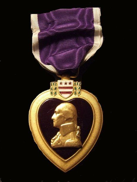 """Aug 7, 1782 - The """"Order of the Purple Heart"""" is created by President George Washington (1782): A History Of The Purple Heart 