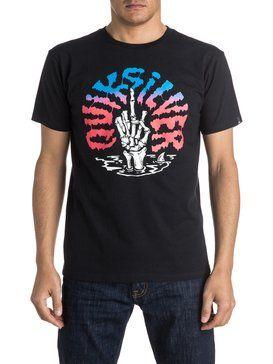quiksilver, Classic Bomba - T-Shirt, BLACK (kvj0)