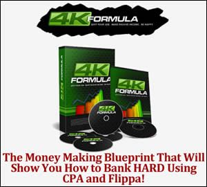 4K Formula is A Money Making Blueprint That Discovers The Methods Behind Starting a Bidding War and Earn High Profits For Less Than 1 hour Work Per Day.
