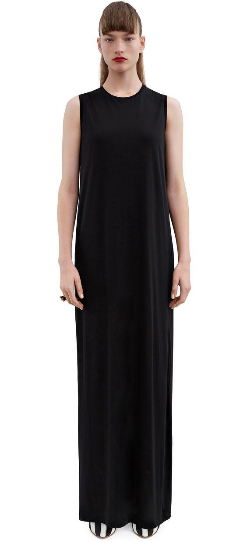 ACNE STUDIOS Ormanda Tencel Black. #acnestudios #cloth #dresses