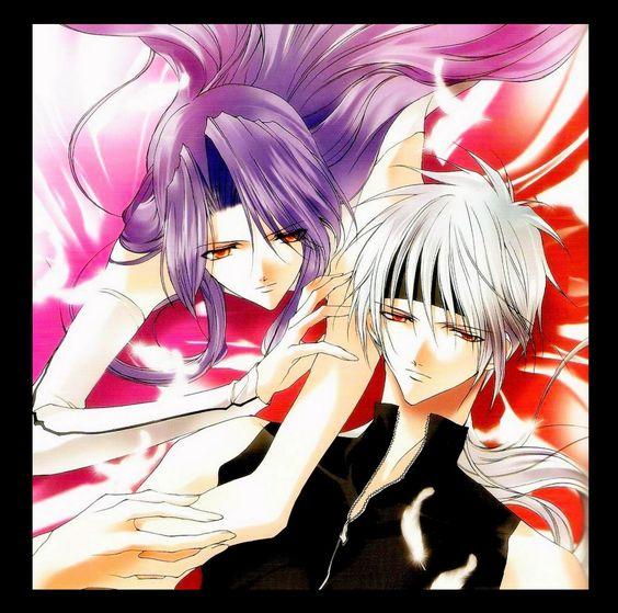 Saint Beast by Asagi Sakura: Suzaku no Rei & Houou no Luca <3<3<3