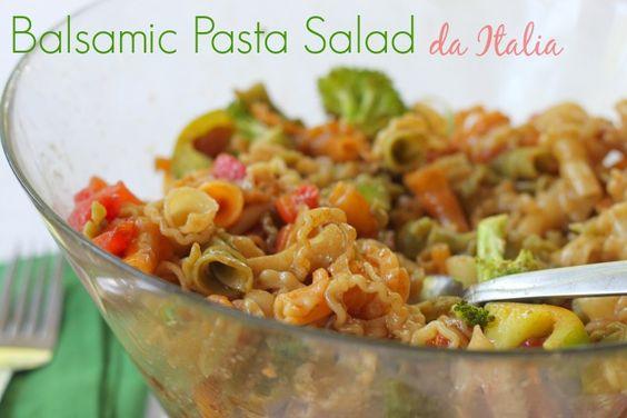 Balsamic Pasta Salad da Italia #FortheCup (ad)