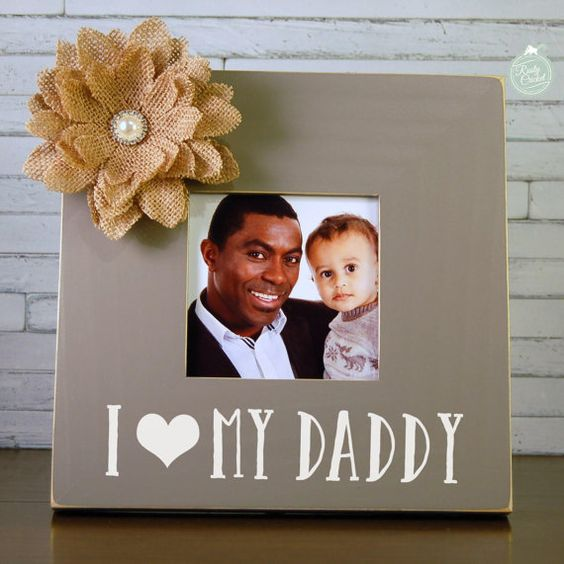 love i love my daddy frame