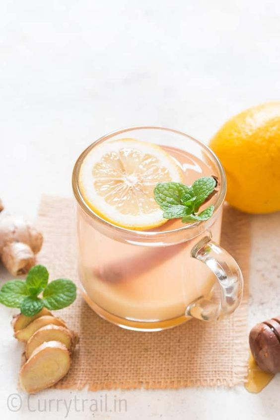 SOOTHING HONEY-LEMON GINGER TEA