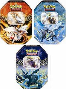 Pokemon Next Destinies 2012 Spring EX Collector's Tin Set (3 Tins)