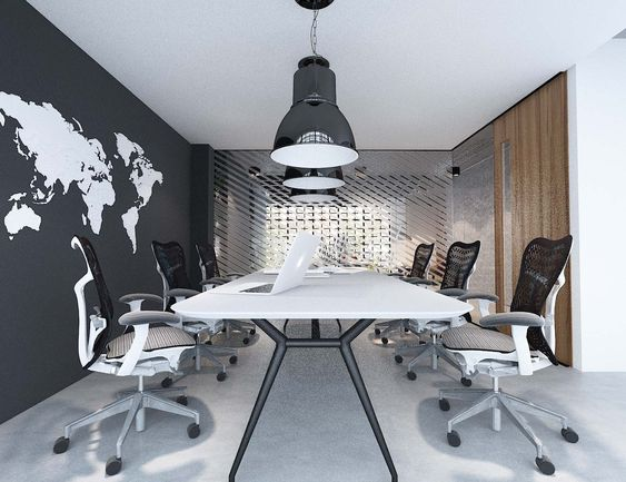 Bright Space in Meeting Room: