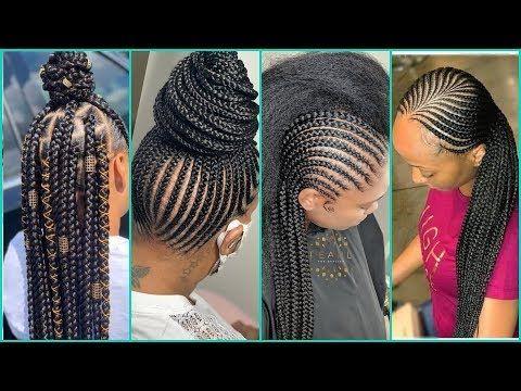 Ghana Weaving Hairstyles Latest Ghana Weaving Hairstyles 2020 That Will Make You Latest Ghana Weaving Hairstyles Ghana Weaving African Hair Braiding Styles