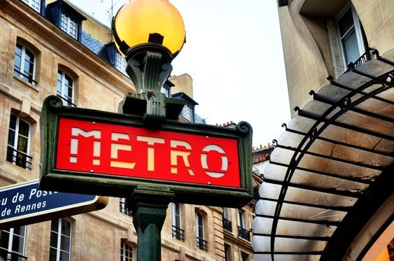 Enjoy getting around town on the cool metro system