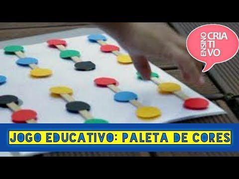Jogo Das Cores Sequencia De Cores Atividade Educacao Infantil Colors Game Youtube Educacao Infantil Jogos Educacao