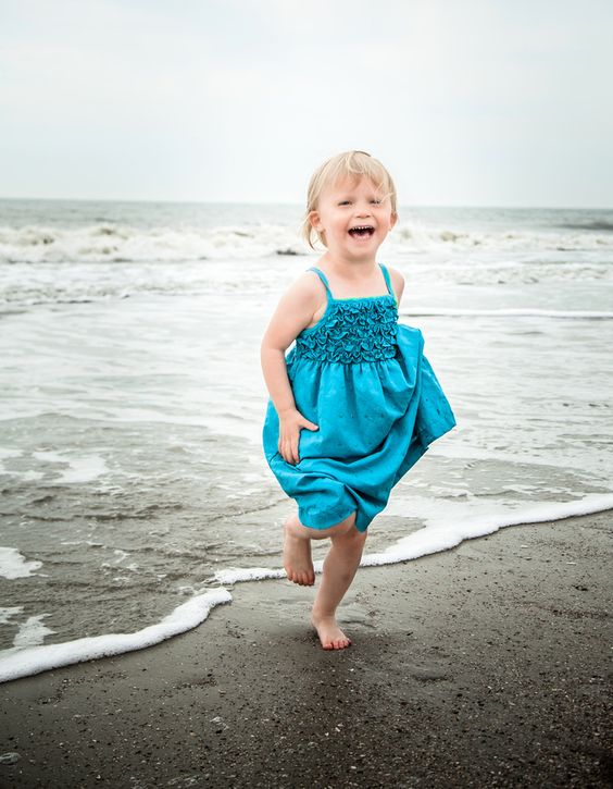 The best pics of kids happen when you just let them go! Hilton Head Island, SC. Best Family Photographer, Bluffton Today, 2012 & 2013.