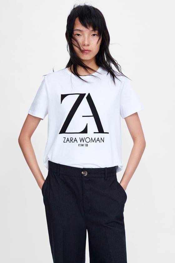 t shirt zara femme 2018