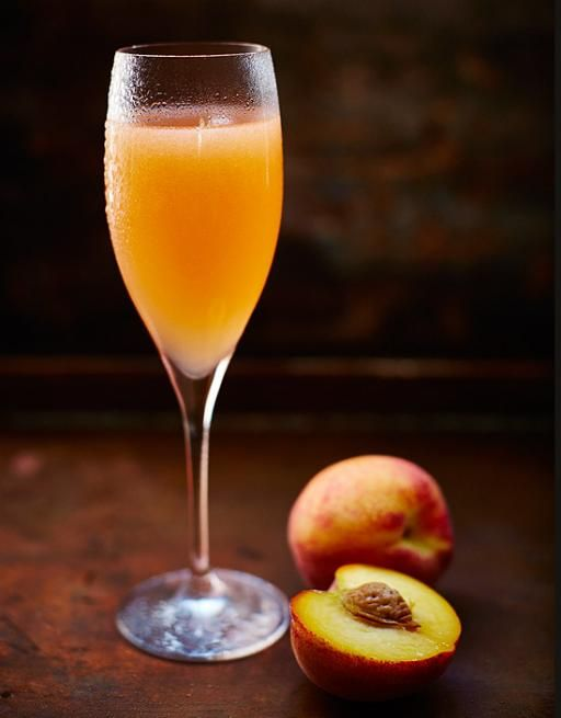 Invented at the famous Harry's Bar in Venice, the Bellini is the ultimate summer aperitif. Don't be afraid to mix the fruits up.