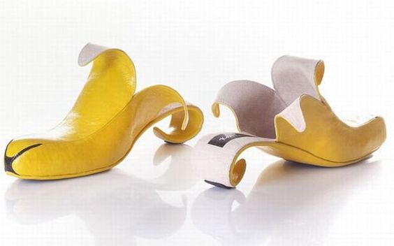 banana shoes!