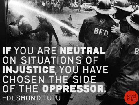 Image result for choosing the side of the oppressor