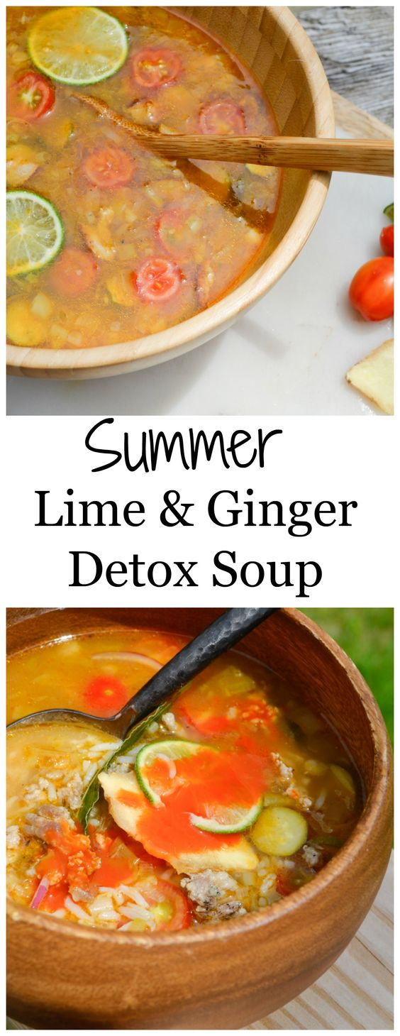 Detox soup, Detox and Soups on Pinterest