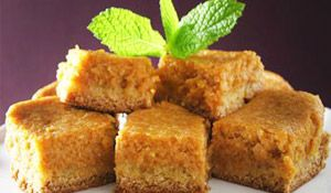healthy snack - protein packed pumpkin bars