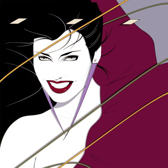 Perhaps my favorite nagel illustration since it was on the album cover of Duran Duran's Rio....right??