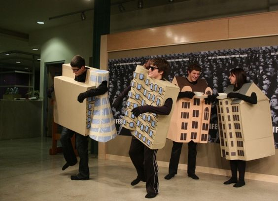 15 Creative Architecture Halloween Costumes - 12 Wvu Towers