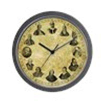 Pope Pius Clock 10 inch Wall Clock
