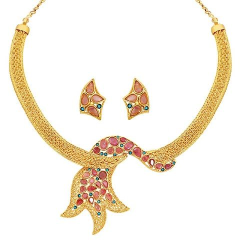 50 Grams Gold Necklace Designs Latest Collection For Wedding In 2020 Gold Necklace Designs Necklace Designs Gold Rate