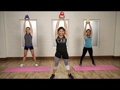 20-Minute Kettlebell Workout | Class FitSugar - YouTube