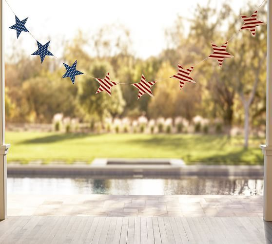 Americana Stars Banner