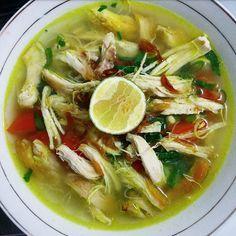 Resep Soto Ayam Oleh Mega Nov Resep Resep Masakan Resep Makanan India Resep Makanan Asia