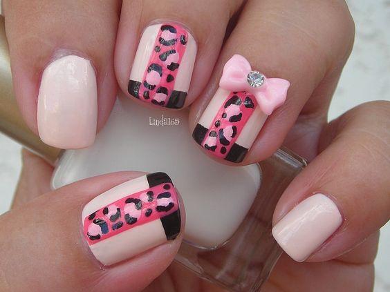Pink Leopard. Tutorial: http://youtu.be/gUYSK5TdGnQ
