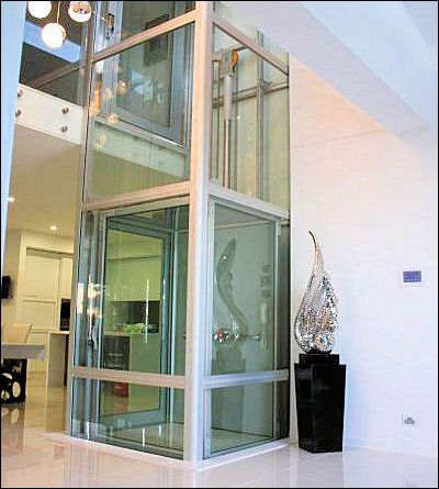 Residential glass elevators may be the wave of the future for Elevator flooring options