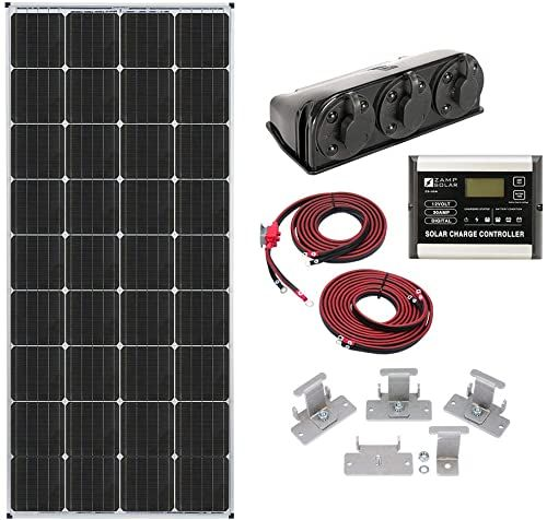 Amazing Offer On Zamp Solar Legacy Series 170 Watt Roof Mount Solar Panel Kit Digital Charge Controller Durable Off Grid Solar Power Rv Battery Charging Kit1 In 2020 Solar Panels Solar Kit