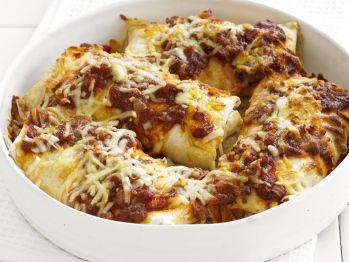 Vegetarian Enchiladas from Cookstr. http://punchfork.com/recipe/Vegetarian-Enchiladas-Cookstr